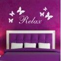 Relax butterfly Art bedroom bathroom decor