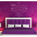Marilyn Monroe Quote,Vinyl Decal Mural Bedroom, Lounge, Study