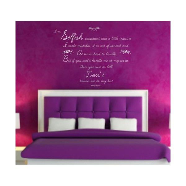 marilyn-monroe-quotevinyl-wall-art-sticker-decal-mural-bedroom