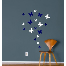 Wall Art Stickers Butterflies, Bedroom, Lounge, Hall, Nursery, Kids, Bathroom